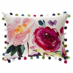 Ebba Cushion  Red Rose Collection  by Bluebellgray (UK)