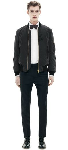 Urban Black Tie, by Acne, Men's Spring Summer Fashion.