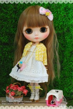 BHC Sakura Lace Dress Set for Kenne Blythe Doll FN577 | eBay