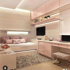 146 best teen bedroom ideas for girl and boys 47 mantulgan.me Wonderful Teen Bedrooms Bedroom boys Girl ideas mantulganme Teen Girl Bedroom Designs, Room Ideas Bedroom, Teen Room Decor, Small Room Bedroom, Small Rooms, Bedroom Decor, Bedroom Boys, Small Space, Wall Decor