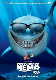 Official theatrical movie poster ( of for Finding Nemo Starring Albert Brooks, Ellen DeGeneres, Alexander Gould, Willem Dafoe Disney Pixar, Film Disney, Disney Movies, Finding Nemo Movie, Finding Nemo 2003, Walt Disney Pictures, Pixar Movies, Cartoon Movies, Bruce Willis