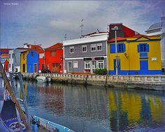 Canal dos Botirões, Aveiro, Portugal