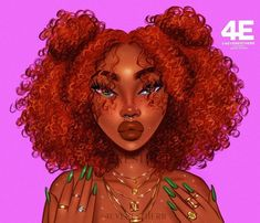 Black Cartoon Characters, Black Girl Cartoon, Cartoon Art, Cartoon Pics, Black Art Painting, Black Artwork, Black Love Art, Black Girl Art, Pretty Art