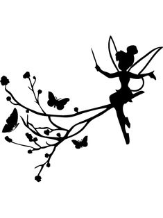 Disney Silhouette Art, Fairy Silhouette, Silhouette Portrait, Tinker Bell Silhouette, Fairy Lights In A Jar, Fairy Jars, Music Drawings, Art Drawings Sketches, Fairy Templates