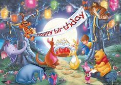 Happy Birthday to Pooh. He's 89!! 4/11/15