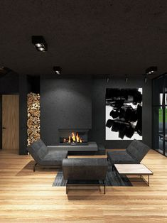 Contemporary Architecture, Interior Architecture, Interior Design, Amazing Architecture, Villa Design, House Design, Harriman State Park, Modern Architects, House Rooms