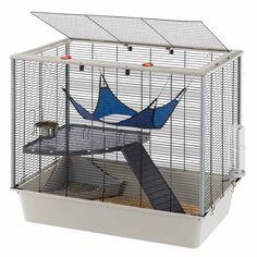 Cage pour #furet https://www.monfufu.com/furets-cages-parcs/112-cage-furet-ferplast.html
