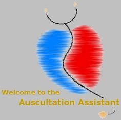 Auscultation  -Provides heart sounds, heart murmurs and breath sounds to help students improve diagnosis skills   -Includes detailed descriptions to go along with the sounds