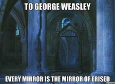 "When someone made this Mirror of Erised realization. | 29 Times Tumblr Made ""Harry Potter"" Fans Cry All Over Again"