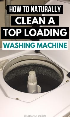 The best (and safest) way to clean a washing machine. How to clean a washing machine with vinegar and baking soda. How to clean a washing machine without chemicals step-by-step guide. Deep Cleaning Tips, Cleaning Recipes, House Cleaning Tips, Natural Cleaning Products, Cleaning Solutions, Cleaning Hacks, Speed Cleaning, Smelly Washing Machines, Washing Machine Cleaner