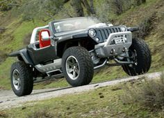 2005 Jeep Hurricane Concept - The one ridiculous concept I wish were real.