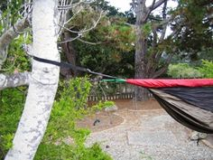 Just Jeff's Hammock Camping Page...how to hang your tarp over your hammock.