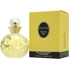 Dolce Vita by Christian Dior Eau de Toilette Spray for Women 3.4 oz.