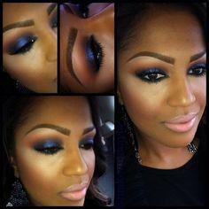 5b10bd9a9d791e5f5f5e0f6bee6a962d Inspirações de maquiagem para a pele negra