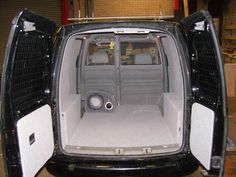 VW Caddy - Carpeting to all panels