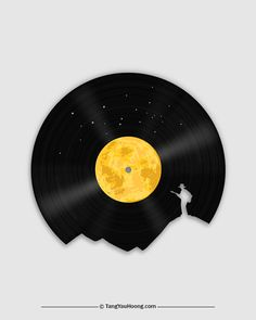 Moon-Song • The Art of Negative Space •