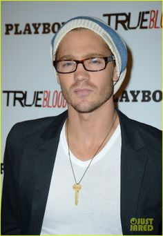 73628d1d53 Spectacles  Chad Michael Murray got spexy in rectangular-shaped tortoise  specs at the Playboy