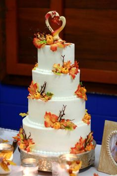 Autumn wedding cake - https://www.facebook.com/photo.php?fbid=536977552985101=a.224551514227708.73758.224547717561421=3