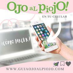 """Guía de servicios on Instagram: """"#datazo de HOY ❕❕❕  ‼️‼️‼️‼️👉🏼 Podés tener 𝗢𝗝𝗢 𝗔𝗟 𝗣𝗜𝗢𝗝𝗢  en tu celular perooo 👉🏼sin perder espacio , ni bajarte una app!!! 👏🏻👏🏻👏🏻 …"""" App, Iphone, Instagram, Space, Apps"""