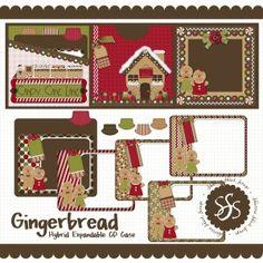 SharinaShack_Gingerbread_ExpandCD Digital AND Traditional (Hybrid) Mini Album