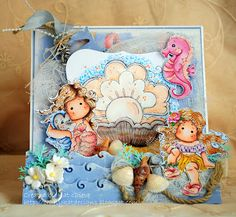 Crafty Kat Designs: oh I do like to be beside the seaside!