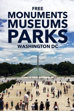 There are so many FREE things to do in Washington, DC that you could easily plan your itinerary around only free attractions and still not get to everything! Map included! Travel in North America.