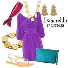 Esmerelda - Love. Add a chain belt and it would be wonderful!