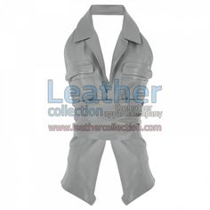 Naked Belted Fashion Leather Vest for $104.30 - https://www.leathercollection.com/en-we/naked-belted-fashion-leather-vest.html