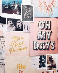 ♡ Pastel soft grunge aesthetic ♡ ☹☻ collage/ office/ work room/ quotes/ sayings/ wall decor/ My New Room, My Room, Room Ideias, Photo Pour Instagram, Room Goals, Poster S, Lettering, Typography, Wall Quotes