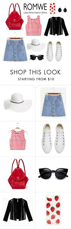 """""""Untitled #30"""" by lazymarmot ❤ liked on Polyvore featuring David & Young, Converse, MANU Atelier, Max&Co., Sonix and Ippolita"""