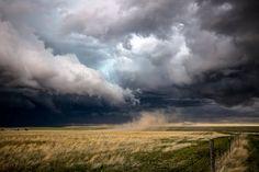 Storm Photography Art Print – Picture of Cloud Reaching Down on Colorado Landscape Sturm-Fotografie-Kunstdruck – Bild der Wolke, die unten. Storm Photography, Landscape Photography Tips, Scenic Photography, Landscape Photos, Landscape Art, Nature Photography, Landscape Fabric, Aerial Photography, Beach Photography