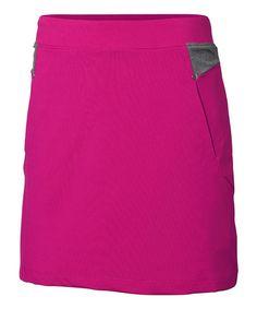Look at this #zulilyfind! Pink Estelle Skort - Women #zulilyfinds