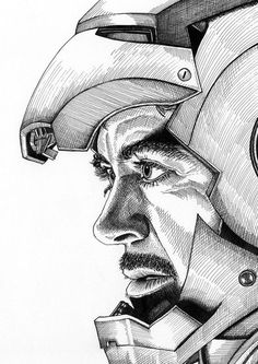 Iron Man Portrait Print is part of pencil-drawings - 8 3 x 11 7 in) Watermark will NOT appear on actual prints Ironman Tattoo, Iron Man Kunst, Iron Man Art, Hero Marvel, Marvel Art, Marvel Comics, Iron Man Wallpaper, Marvel Wallpaper, Hd Wallpaper