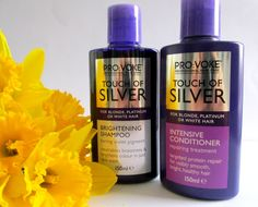 Going Blonde? You Need These Pro:Voke 'Touch Of Silver' Treatments!