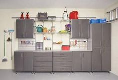 Garage Organization - Hubby would love this!