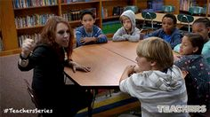 Teaching students how to deal with bullying. New Episodes of Teachers premiere Wednesdays 10:30/9:30c on TV Land. Executive Produced by Alison Brie, Ian Roberts and Jay Martel and starring comedy troupe, The Katydids. Click to discover a sneak peek.