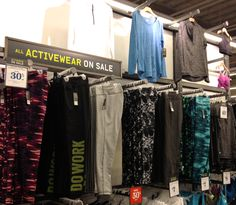 Get fit - and look good doing it! Active wear | As seen at Old Navy
