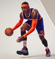 a2d1833ee Carmelo Anthony Wear New M11 Sneaker Nba Fashion