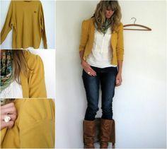 34 ideias para transformar roupas antigas em peças novas | Estilo