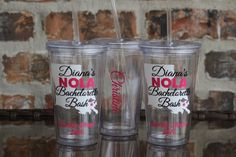 New Orleans Louisiana Bachelorette Party Tumbler 16 by VinylGifts