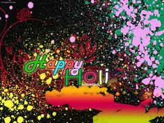 Latest Holi Wallpapers, Greetings and SMS