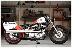 DP Customs - 'The 3' HarleyIronhead - Pipeburn - Purveyors of Classic Motorcycles, Cafe Racers & Custom motorbikes