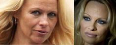 this is what Pam Anderson looks like without makeup. I think she looks better this way. Also, this link has 24 other female celebrities without make up. interesting!