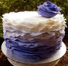 want to figure out how to do fondant ruffles
