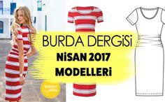BURDA DERGİSİ NİSAN 2017 MODELLERİ