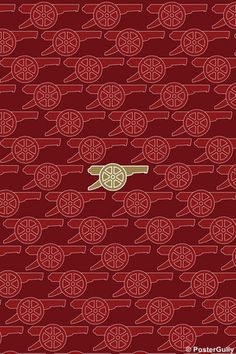 Arsenal F.C Gold Poster