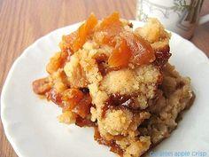 une gamine dans la cuisine: Caramel-Apple Crisp