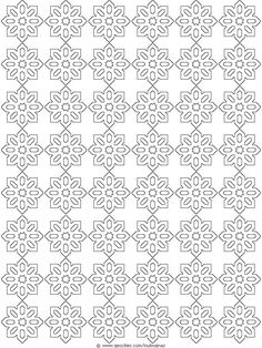 Geometric Page Pattern Coloring Sheets | ... Pages Geometric-patterns-coloring-pages-1 – Free Coloring Page Site