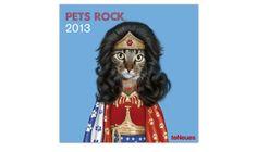 Un calendrier 2013 avec des chats en star du Rock
