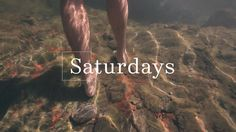 Kinfolk Saturdays: Swimming in Wild Waters by Kinfolk (kinfolk.com). Our new-this-summer film series called Kinfolk Saturdays is all about giving you ideas for things to do on the weekends, inspiring you to try new things and making the most of your precious days off.
